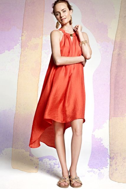 21 Bright Dresses To Wear In Spring And Summer