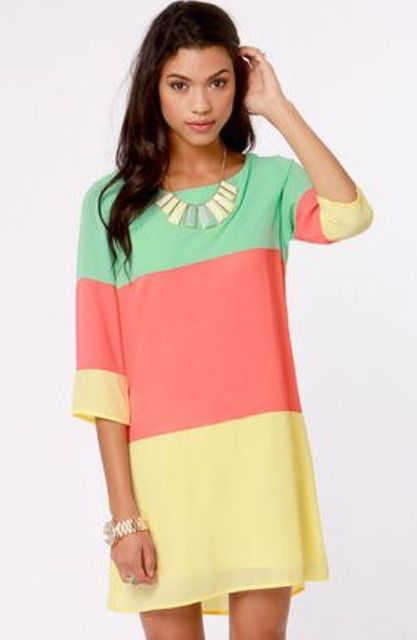 Bright Dresses To Wear In Spring And Summer