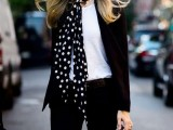 21 Skinny Scarf Ideas To Rock This Fall5