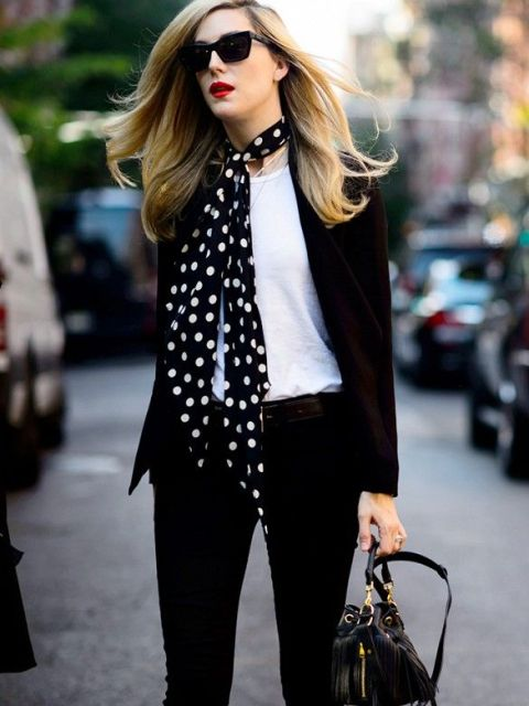 Skinny Scarf Ideas To Rock This Fall