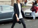 21 Trendy Fall Outfits With Wide Brim Hats15