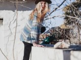 21 Trendy Fall Outfits With Wide Brim Hats17