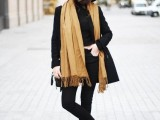 21 Trendy Fall Outfits With Wide Brim Hats6
