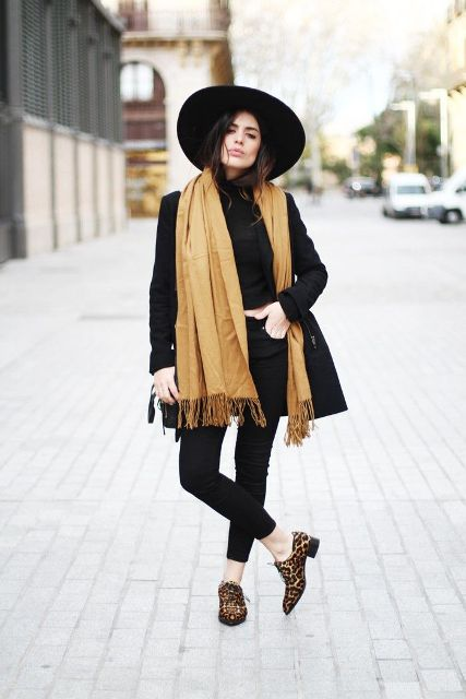 21 Trendy Fall Outfits With Wide Brim Hats Styleoholic