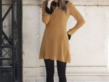 21 Trendy Fall Outfits With Wide Brim Hats8