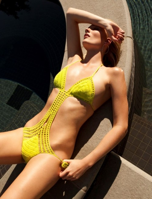 Lovely Crochet Swimsuits To Rock At The Beach