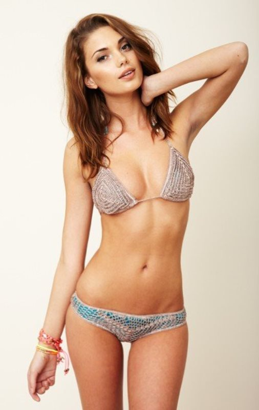 Picture Of lovely crochet swimsuits to rock at the beach  18
