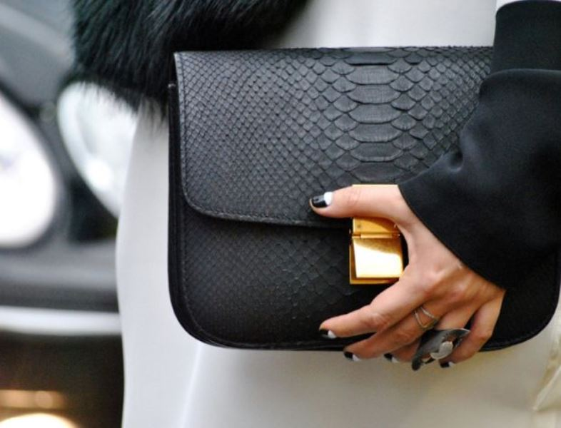 Picture Of refined and stylish structured handbags were dying over  1