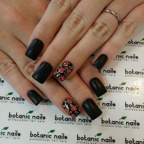 Picture Of sweet flower nail designs to try this summer  13