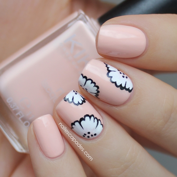 Picture Of sweet flower nail designs to try this summer  7