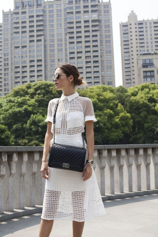 Picture Of trendy black and white outfits to copy now  2