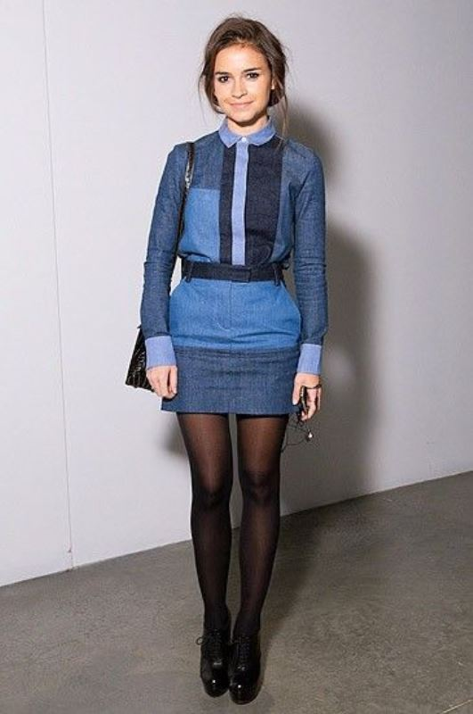 Picture Of trendy outfits with patchwork denim to recreate  15