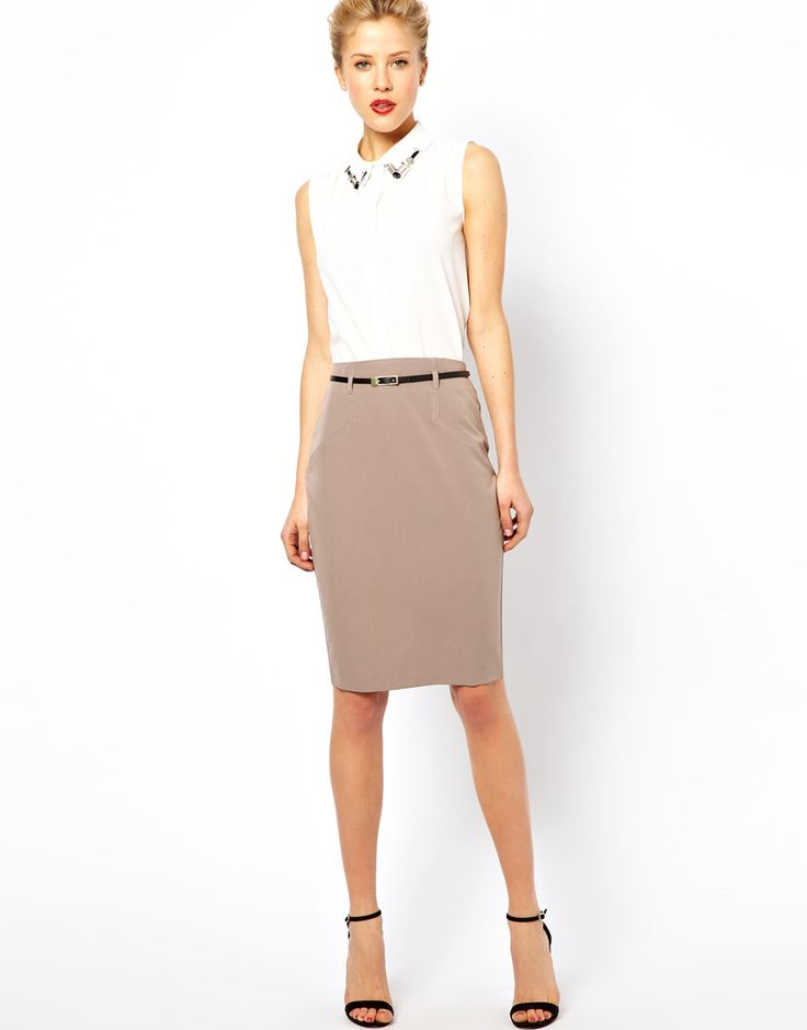 Picture Of Ideas To Wear Skirts At Work 11