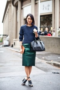 Picture Of Ideas To Wear Skirts At Work 14