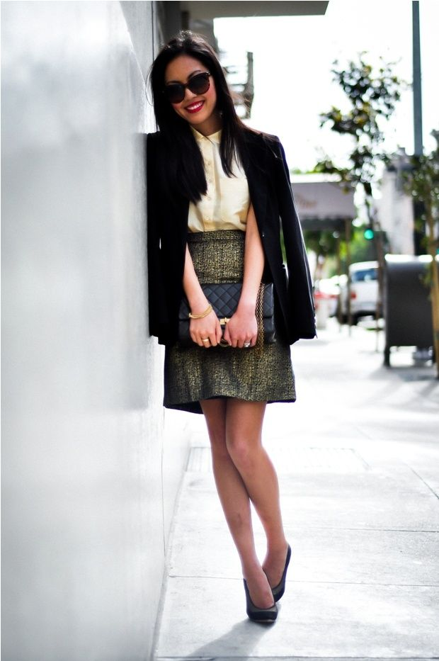 Picture Of Ideas To Wear Skirts At Work 15