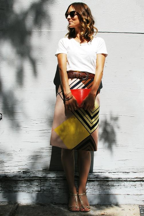 Picture Of Ideas To Wear Skirts At Work 2