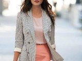 22 Ideas To Wear Skirts At Work7
