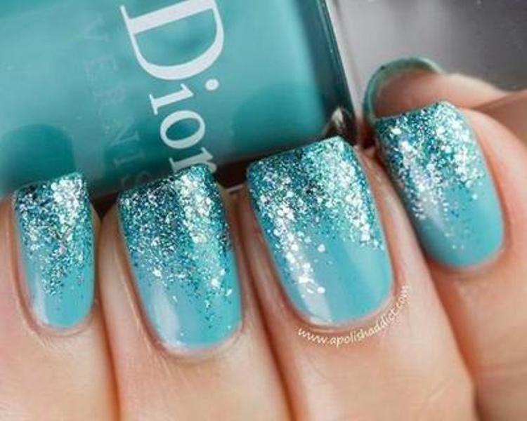 Picture Of pretty party nails ideas for this holiday season  10