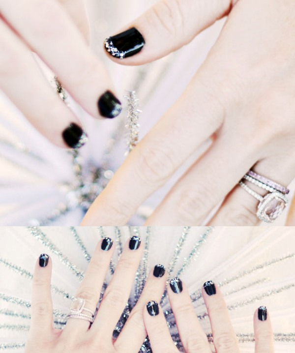 Picture Of pretty party nails ideas for this holiday season  12