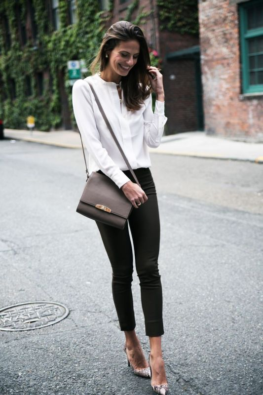 Picture Of stylish outfit ideas for a professional lunch  10