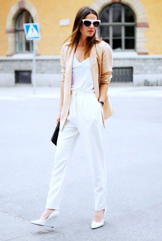 Picture Of stylish outfit ideas for a professional lunch  12