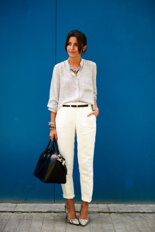 Picture Of stylish outfit ideas for a professional lunch  15