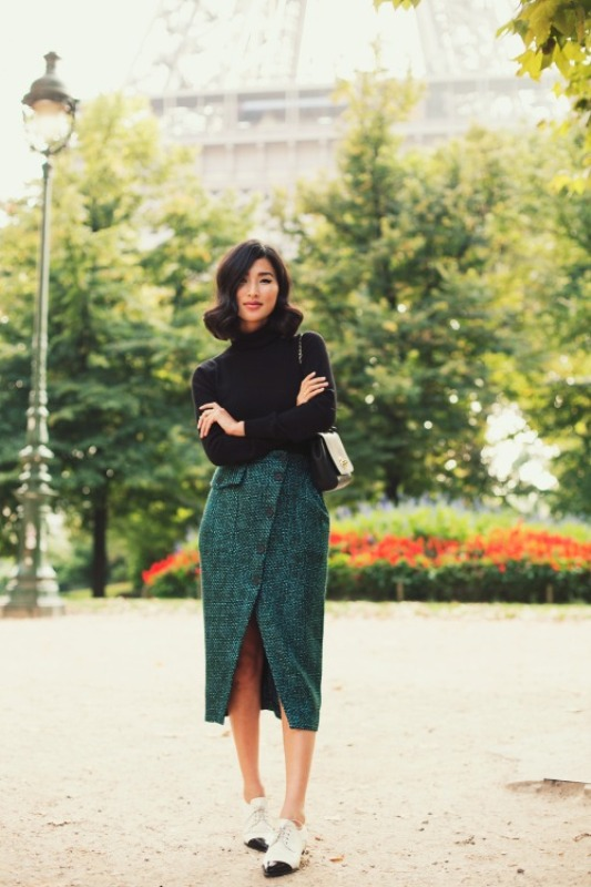 Picture Of stylish outfit ideas for a professional lunch  5