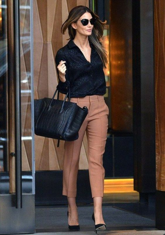 Picture Of stylish outfit ideas for a professional lunch  6