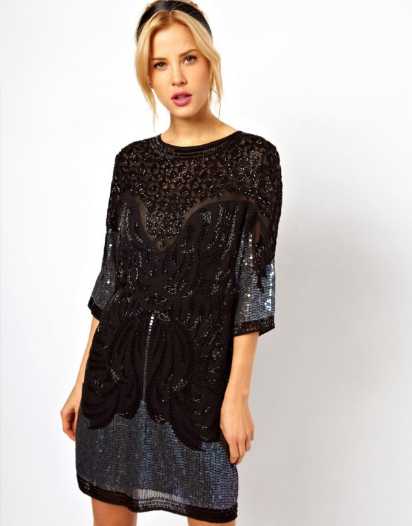 Picture Of hot and fashionable dresses for christmas party to get inspired  22