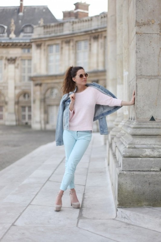 Picture Of inspiring ways to wear pastel colors this spring  11