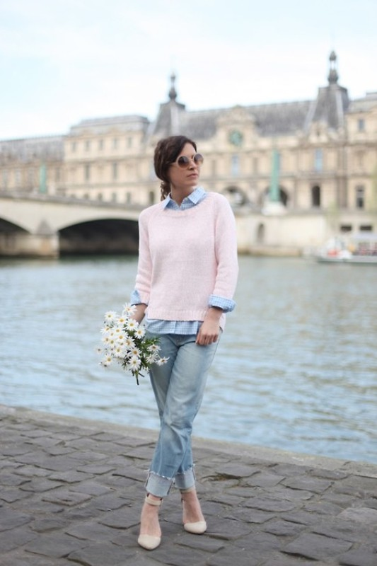 Picture Of inspiring ways to wear pastel colors this spring  13