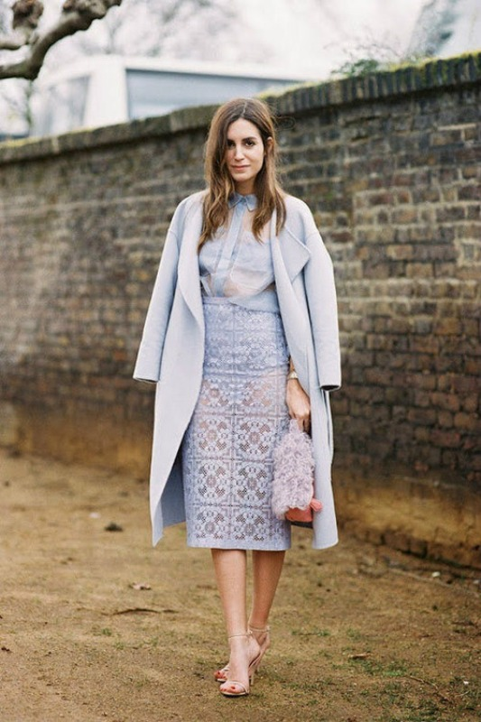 Picture Of inspiring ways to wear pastel colors this spring  15