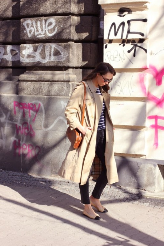Picture Of stylish trench coats for rainy days and not only  10