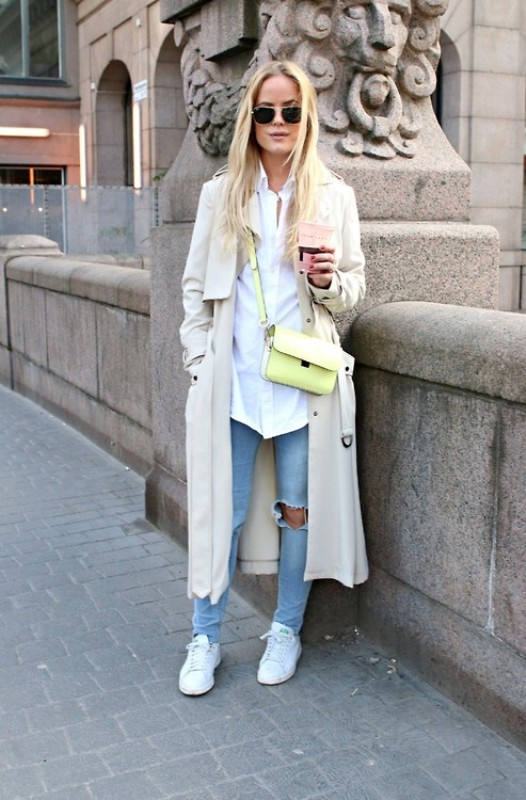 Picture Of stylish trench coats for rainy days and not only  11