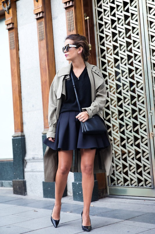 Picture Of stylish trench coats for rainy days and not only  13