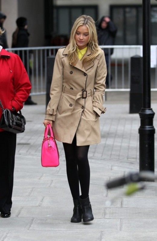 Picture Of stylish trench coats for rainy days and not only  16