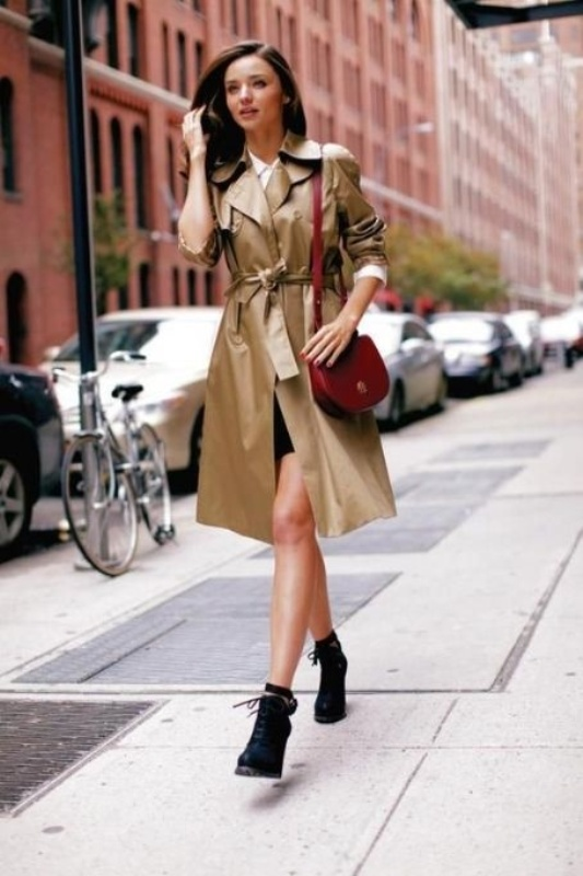 Picture Of stylish trench coats for rainy days and not only  9