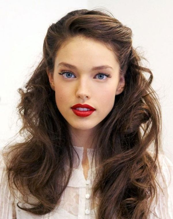 Picture Of the prettiest valentines day hairstyles ideas  5