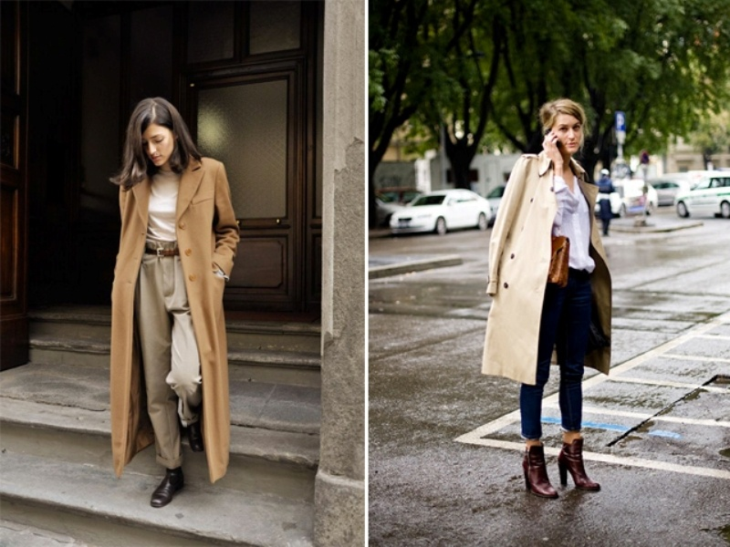 Picture Of trendy camel coat styling ideas for fall  13