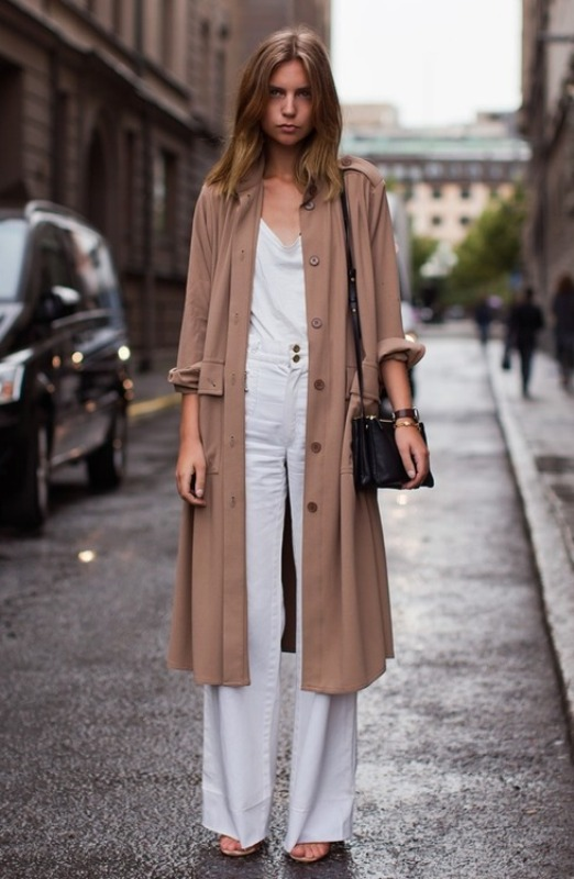 Picture Of trendy camel coat styling ideas for fall  14