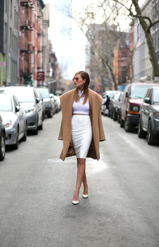 Picture Of trendy camel coat styling ideas for fall  15