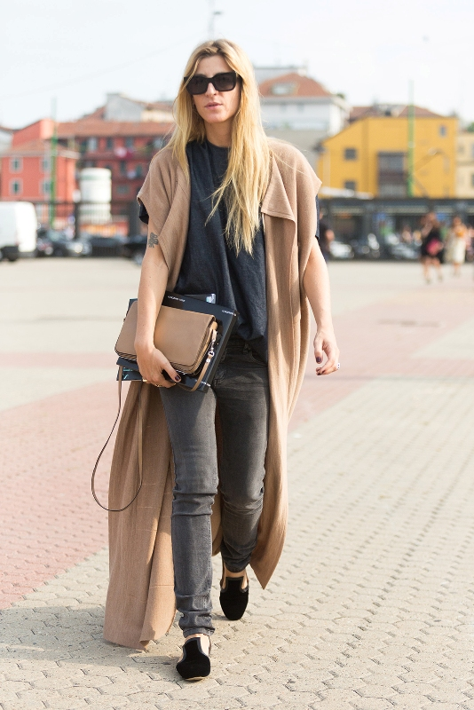 Picture Of trendy camel coat styling ideas for fall  17