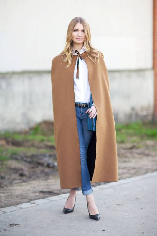 Picture Of trendy camel coat styling ideas for fall  18