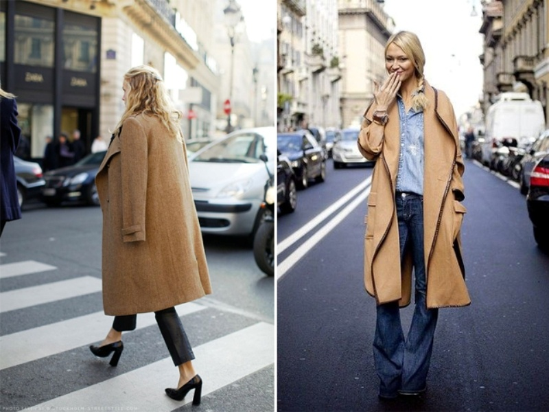 Picture Of trendy camel coat styling ideas for fall  2