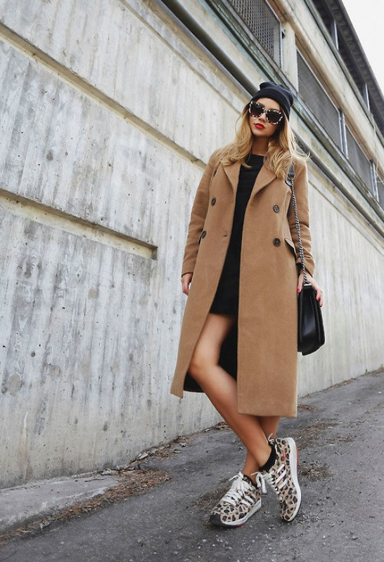 Picture Of trendy camel coat styling ideas for fall  4