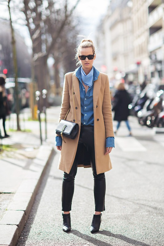 Picture Of trendy camel coat styling ideas for fall  5