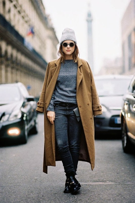 Picture Of trendy camel coat styling ideas for fall  8
