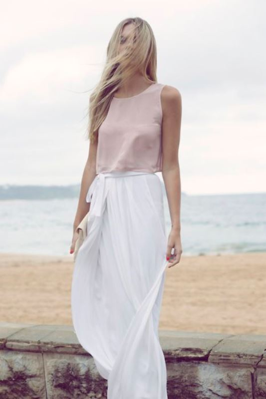 Picture Of trendy soft pink summer looks to recreate  13
