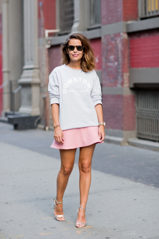 Picture Of trendy soft pink summer looks to recreate  17