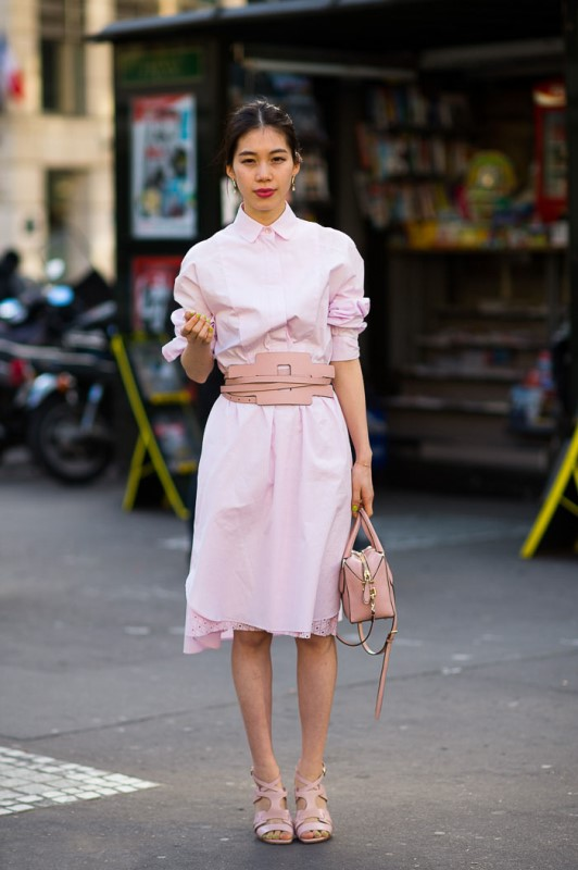 Picture Of trendy soft pink summer looks to recreate  21
